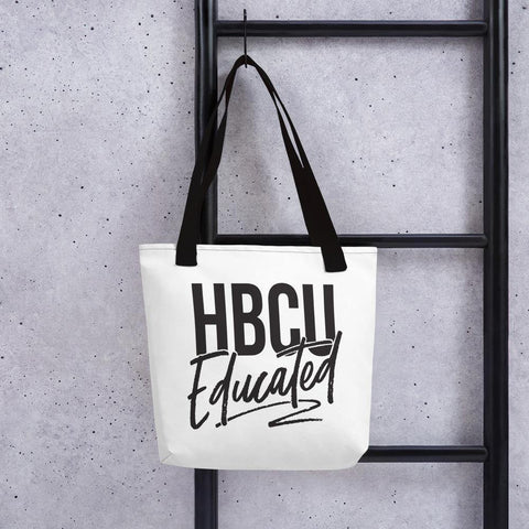HBCU Educated Tote bag