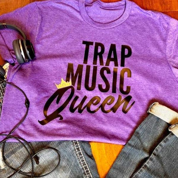 unisex trap music queen tee