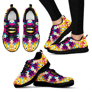 Citrus Kaleidoscope Sneakers