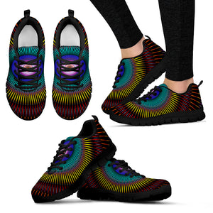 Techno Kaleidoscope Sneakers