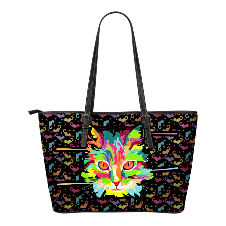 Fierce Cat Tote Bag