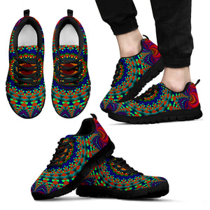 Rainbow Mandala Sneakers