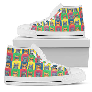 Hipster Cats Shoes