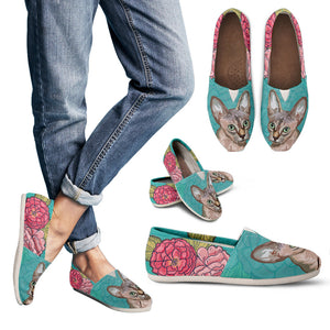 Sphynx Floral Casual Shoes