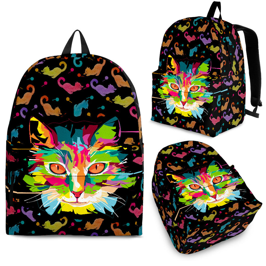 Fierce Cat Backpack