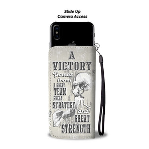 Football Victory Wallet Phone Case