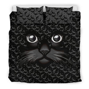 Black Cat Bedding Set