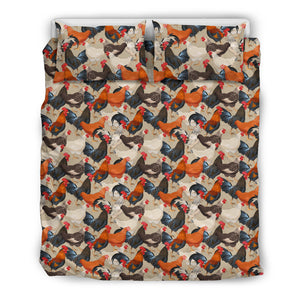 Chicken Bedding Set