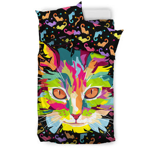 Fierce Cat Bedding Set
