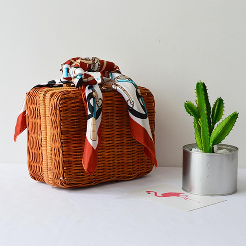 Summer Lovin' Weave Beach Bag