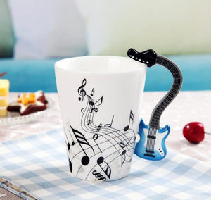 Acoustic and Electric Guitar Cofee / Tea Cup
