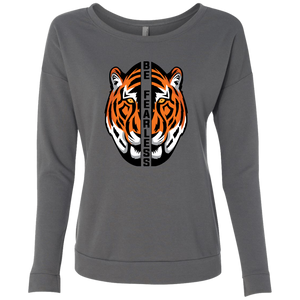 Orange Tiger Ladies LS Shirt
