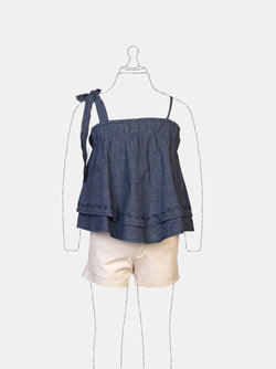 Playful Breeze (Navy) Navy - Robby Rabbit Girls