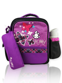 Playful Butterfly - 12in Backpack (Purple)  - Robby Rabbit Girls
