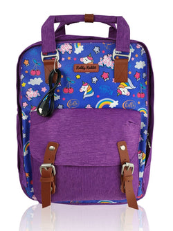 Love Magic - 15in Backpack (Purple)  - Robby Rabbit Girls