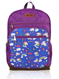 Love Magic - 16in Backpack (Purple)  - Robby Rabbit Girls