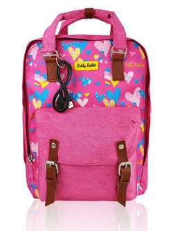 Love Magic - 15in Backpack (Pink)  - Robby Rabbit Girls