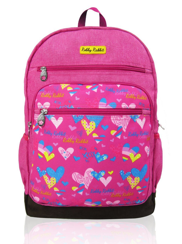 Love Magic - 16in Backpack (Pink)  - Robby Rabbit Girls