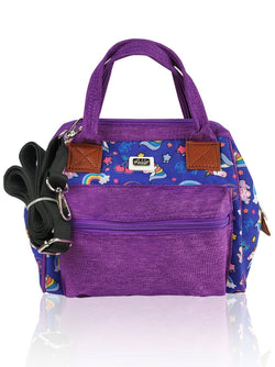 Love Magic - 3 in 1 Shoulder Bag (Purple)  - Robby Rabbit Girls