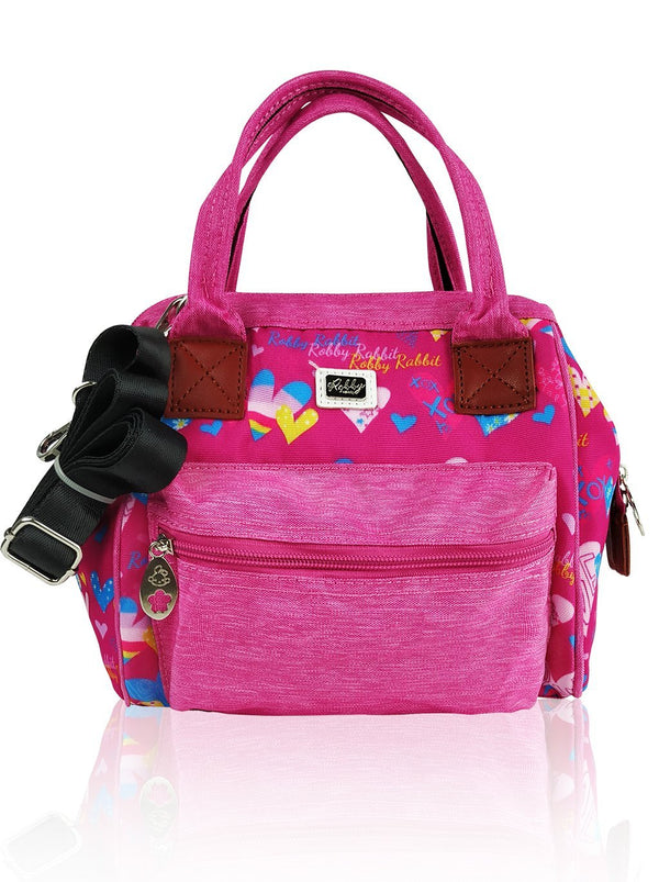 Love Magic - 3 in 1 Shoulder Bag (Pink)  - Robby Rabbit Girls