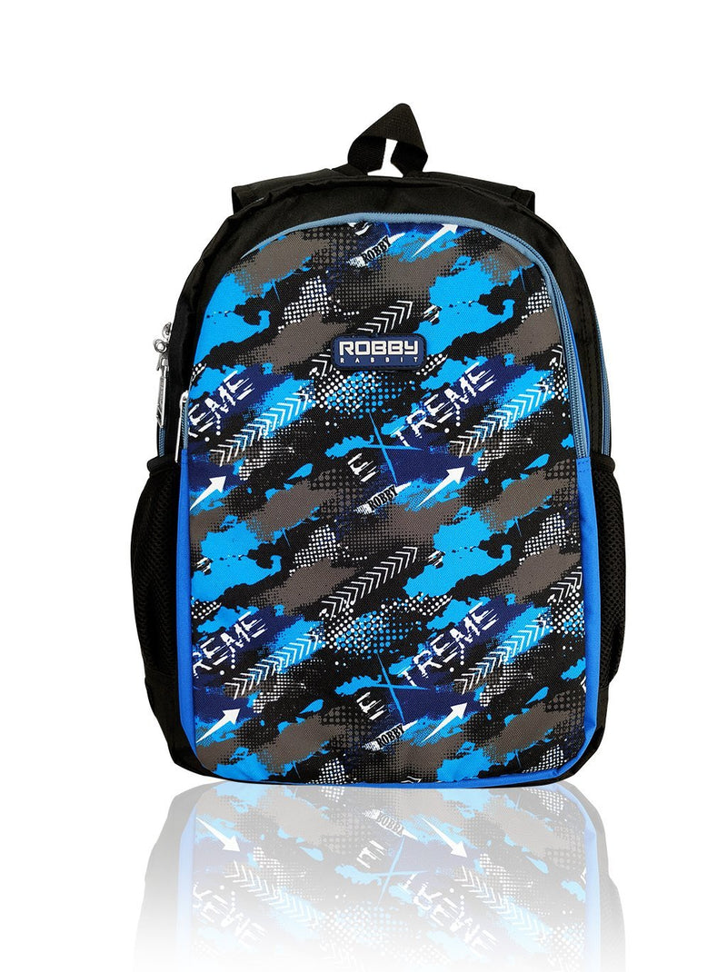 Robby Duo - 15in Backpack (Blue)  - Robby Rabbit Boys