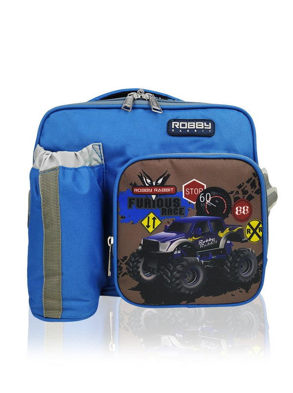 Robby Duo - Thermal Lunch Bag (Blue)  - Robby Rabbit Boys