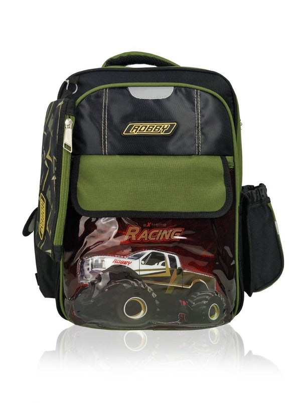 Ridge Racer - 16in Backpack (Green)  - Robby Rabbit Boys