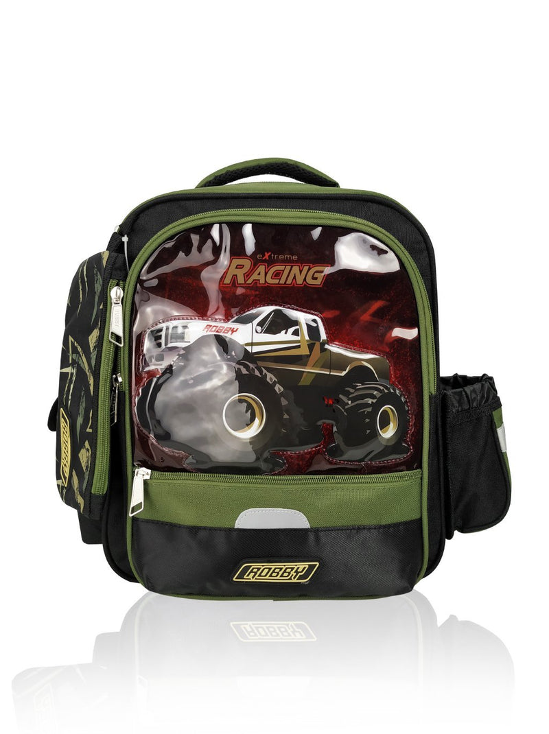 Ridge Racer - 14in Backpack (Green)  - Robby Rabbit Boys