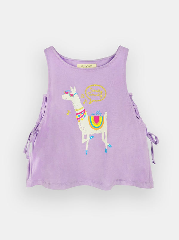 Playful Llama (Lilac)  - Robby Rabbit Girls