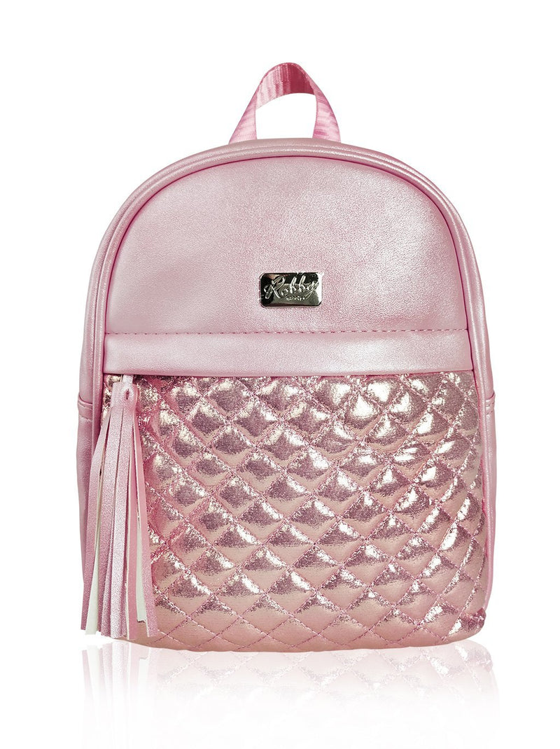 Dazzling Piece - 10in Backpack (Pink)  - Robby Rabbit Girls