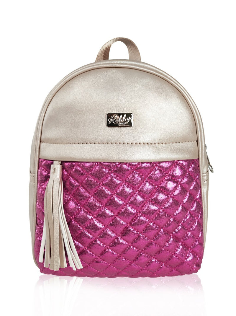 Dazzling Piece - 10in Backpack (Fuchsia)  - Robby Rabbit Girls