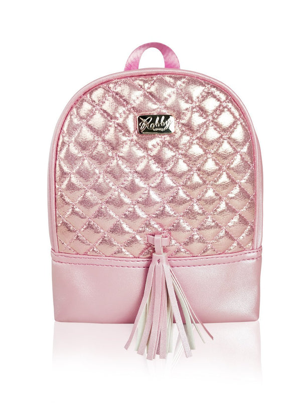 Dazzling Piece - 8.5in Backpack (Pink)  - Robby Rabbit Girls