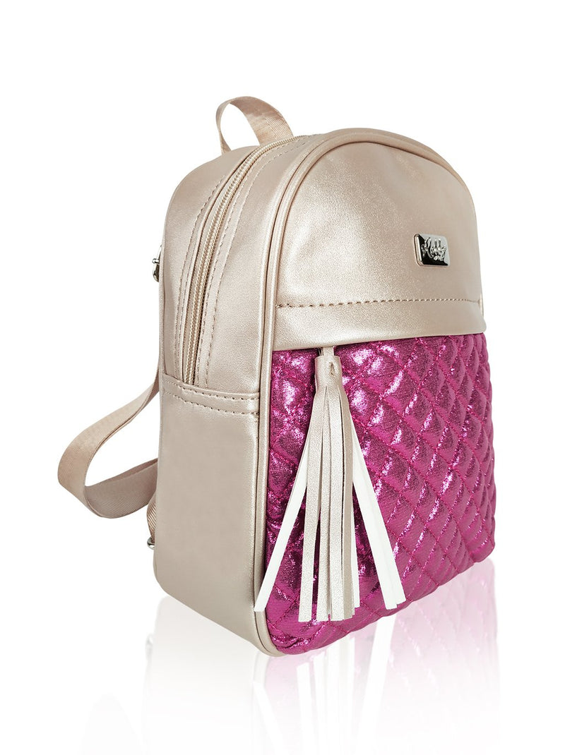 Dazzling Piece - 10in Backpack (Fuchsia)