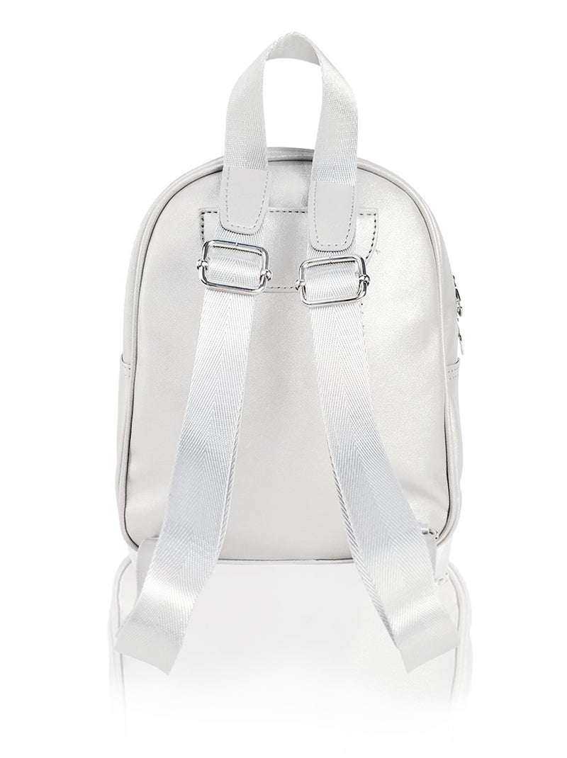 Dazzling Piece - 10in Backpack (Silver)