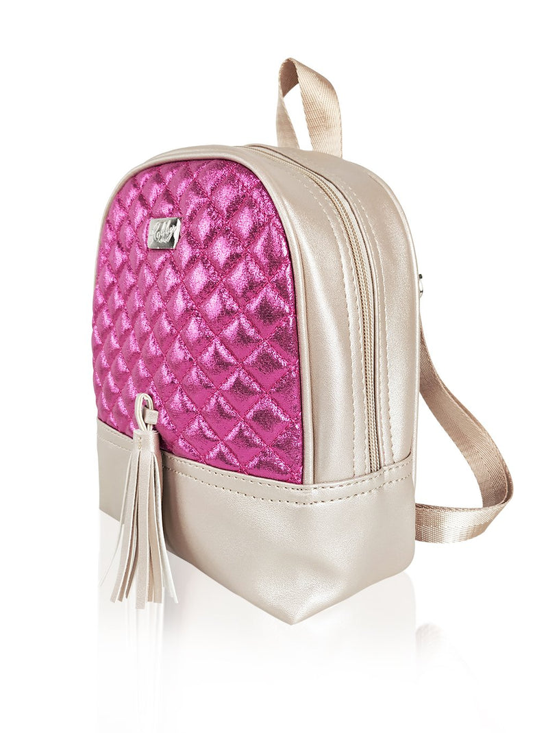 Dazzling Piece - 8.5in Backpack (Fuchsia)