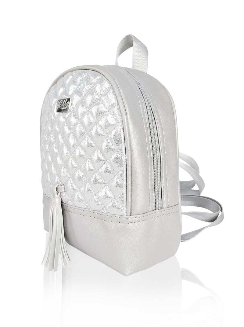 Dazzling Piece - 8.5in Backpack (Silver)