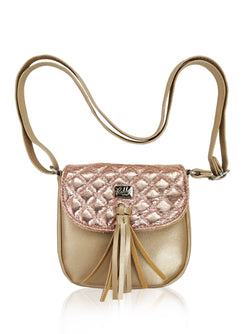 Dazzling Piece - Sling Bag (Gold)  - Robby Rabbit Girls