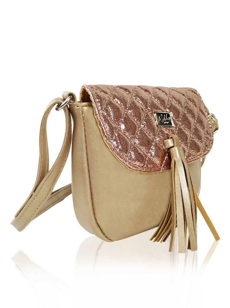 Dazzling Piece - Sling Bag (Gold)