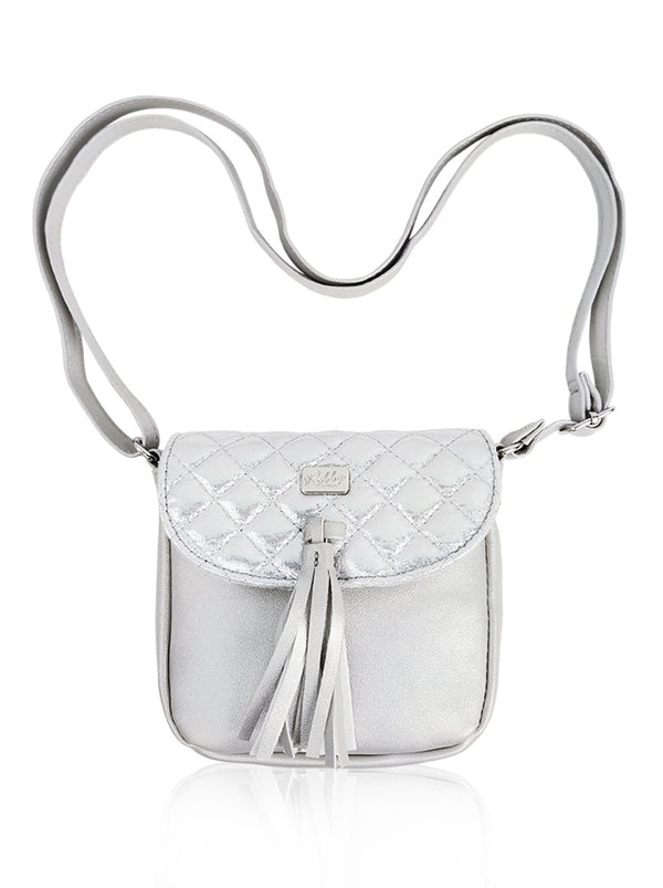 Dazzling Piece - Sling Bag (Silver)  - Robby Rabbit Girls