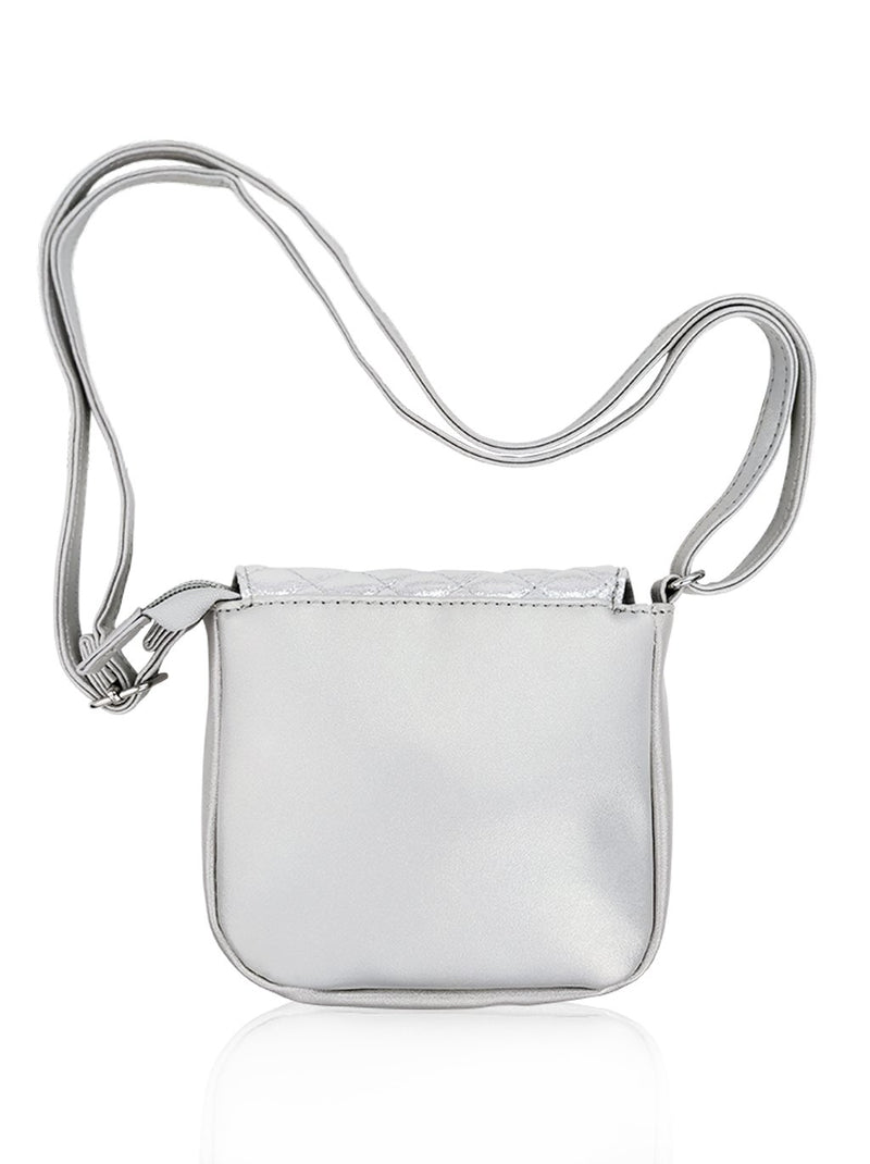 Dazzling Piece - Sling Bag (Silver)