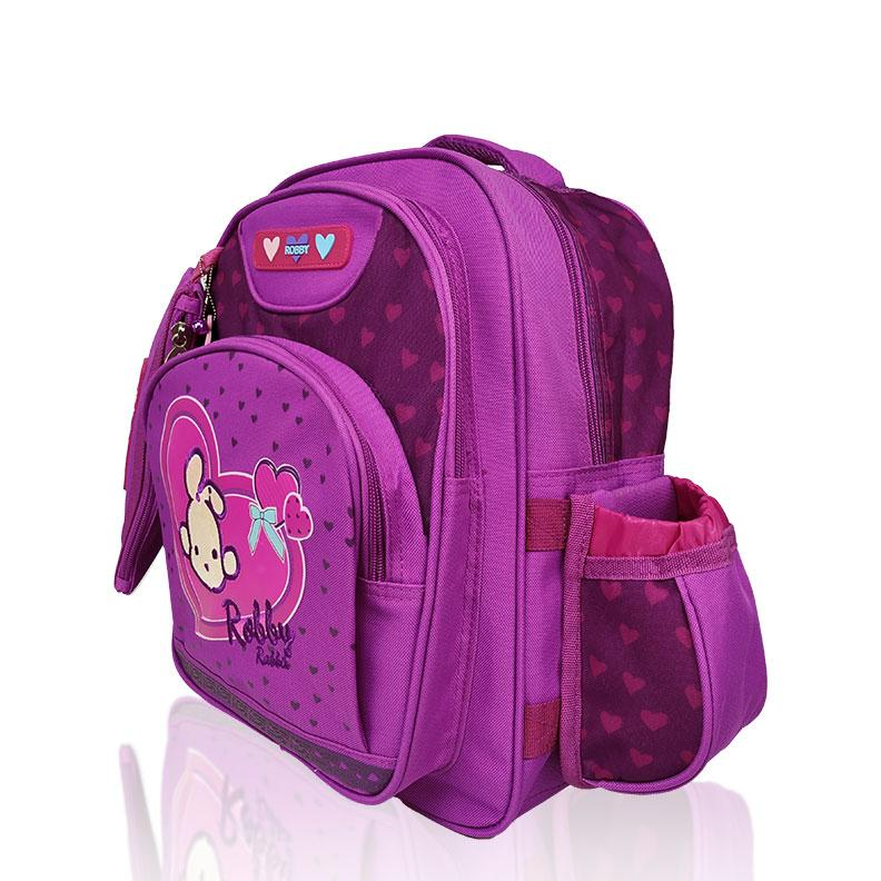 Full of Hearts - 14in Backpack (Pink)