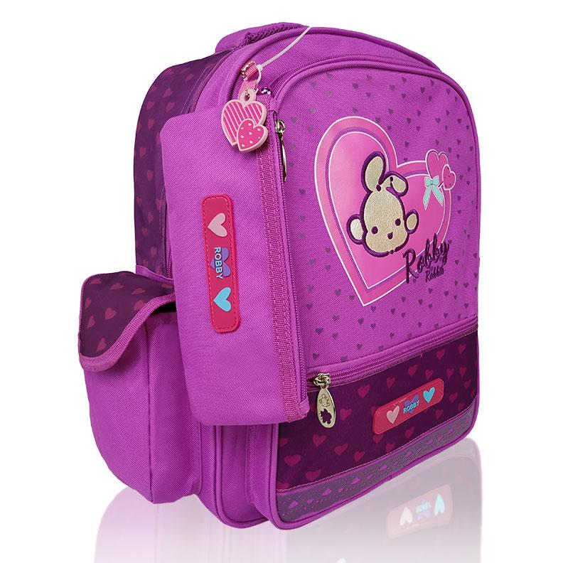 Full of Hearts - 16in Backpack (Pink)