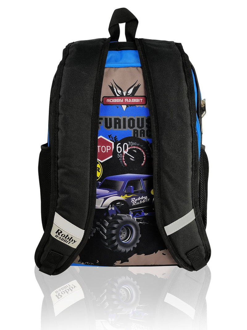 Robby Duo (Reversible) - 17in Backpack (Blue)