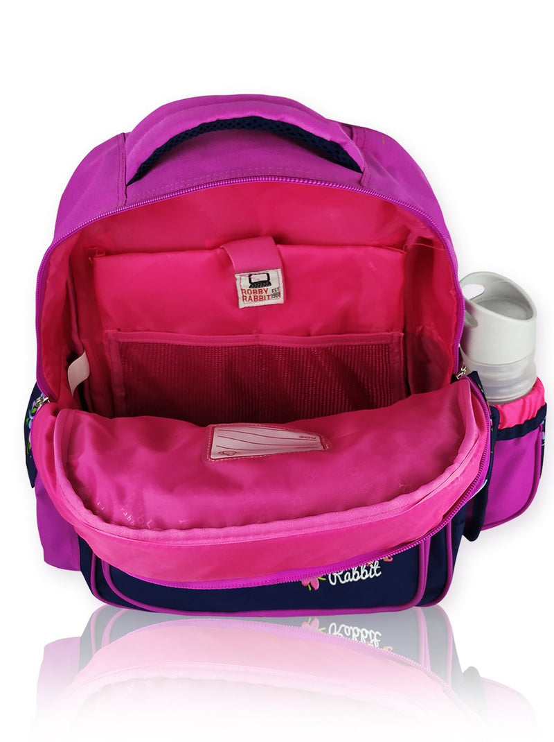 Blooms N Blued - 16in Backpack (Purple)