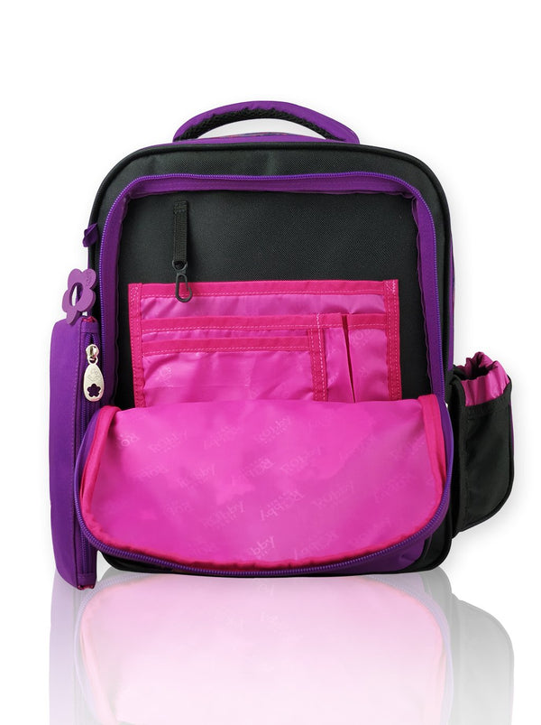 Playful Butterfly - 14in Backpack (Purple)