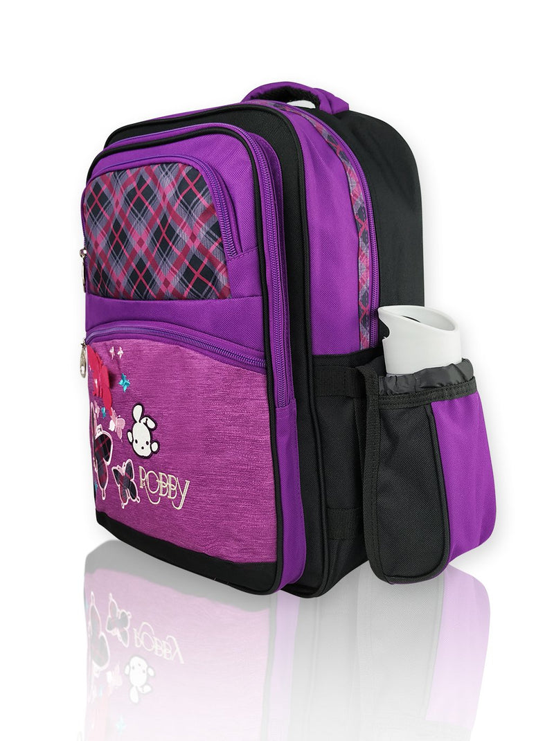 Playful Butterfly - 16in Backpack (Purple)