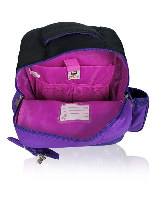Flower Power - 16in Backpack (Purple)