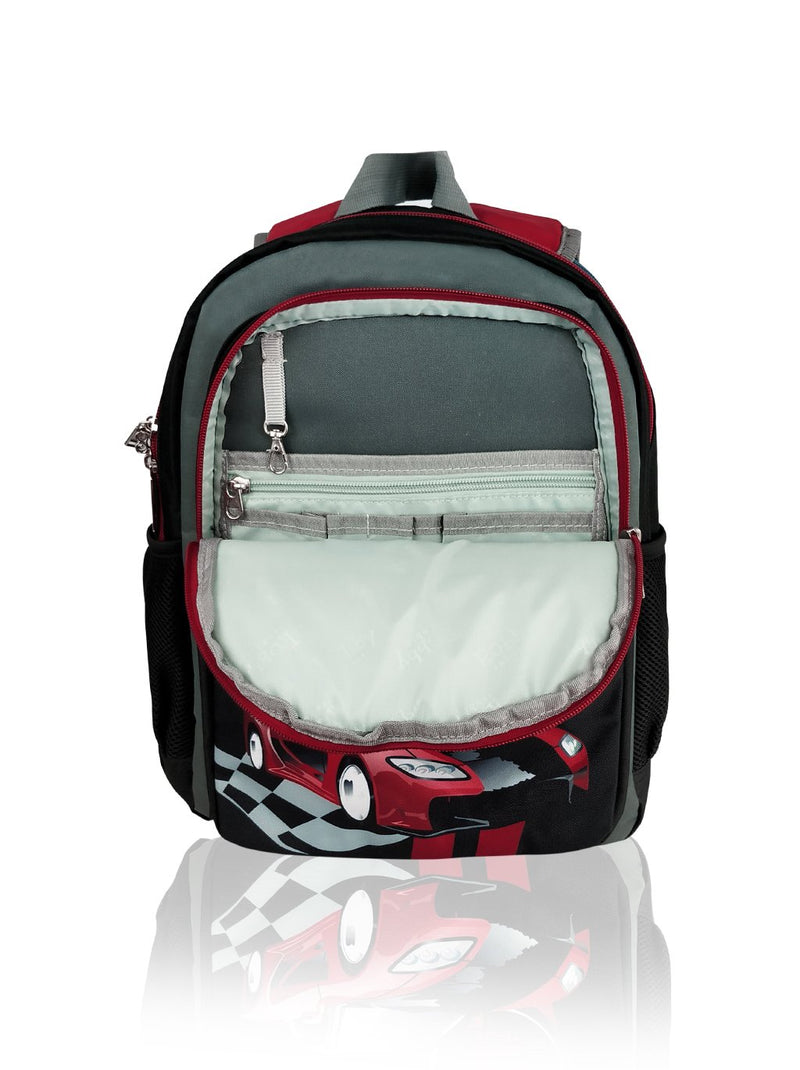 Robby Duo (Reversible) - 15in Backpack (Red)