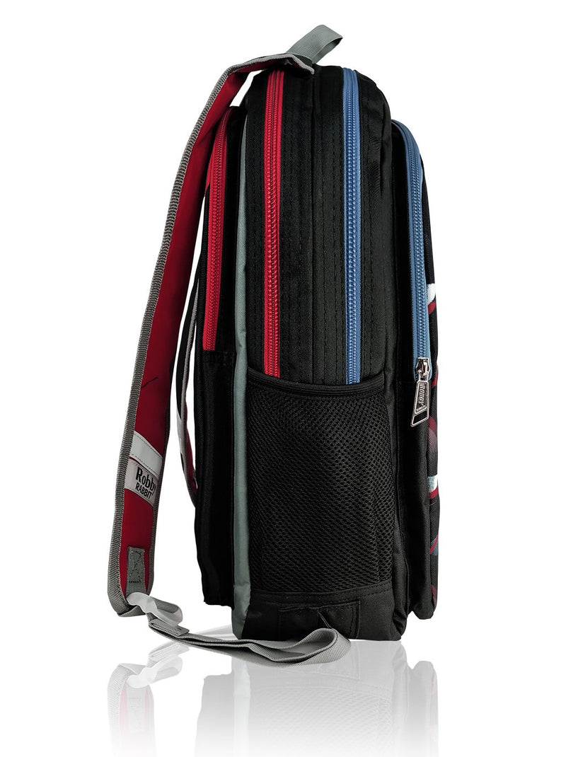 Robby Duo (Reversible) - 17in Backpack (Red)
