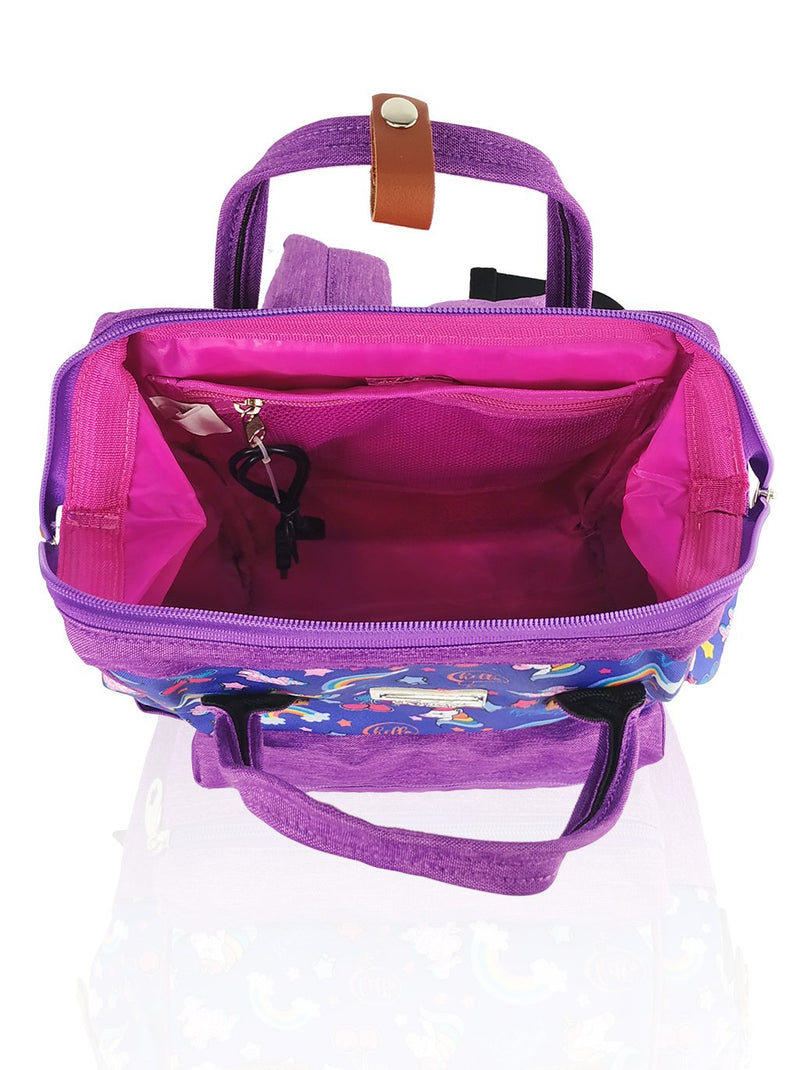 Love Magic Hinge Clasp - 14in Backpack (Purple)